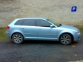 Audi A3 s instalovanymi protislunecnimi autofoliemi Llumar AT15,35