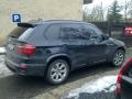 BMW X5 - protislunecni autofolie Llumar AT35GR+orig.sunset