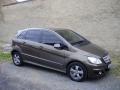 Mercedes Benz B instalace protislunecni autofolie Llumar AT20CH