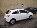 Opel Corsa instalace protislunecni autofolie Llumar AT15