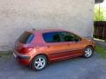 Peugeot 307 instalace protislunecni autofolie Llumar AT15,35