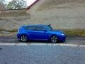 Subaru Impreza instalace protislunecni autofolie Llumar AT5