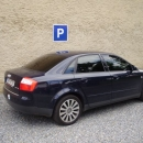 Audi A4 s instalovanymi protislunecnimi autofoliemi Llumar ATR5,15