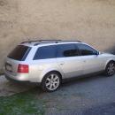 Audi A6 combi s instalovanymi bezpecnostnimi a protislunecnimi autofoliemi Llumar AT15,35