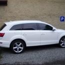 Audi Q7  - protislunecni autofolie Llumar AT15
