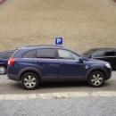 Chevrolet Captiva - protislunecni autofolie Llumar ATR5