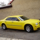 Chrysler 300C - protislunecni autofolie Llumar AT15