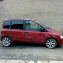 Fiat Multipla - protislunecni autofolie Llumar na autosklo AT5