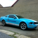 Ford Mustang - protislunecni autofolie Llumar 5,15