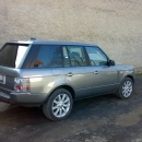 Land Rover Range Rover Vogue - protislunecni autofolie Llumar na skla AT5