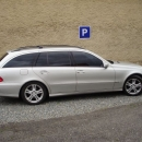 Mercedes Benz E combi instalace protislunecni autofolie Llumar AT5,15