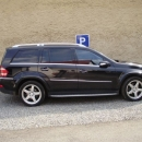 Mercedes Benz GL instalace bezpecnostni autofolie Llumar 300µm