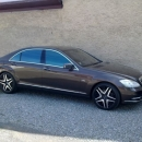 Mercedes Benz S instalace protislunecni autofolie Llumar AT15GR