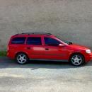 Opel Astra combi instalace protislunecni autofolie Llumar AT15,35