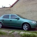 Opel Astra instalace protislunecni autofolie Llumar