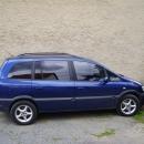 Opel Zafira instalace protislunecni autofolie Llumar AT15,35