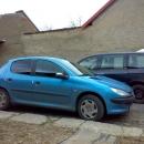 Peugeot 206 instalace protislunecni autofolie Llumar
