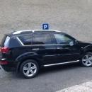 Peugeot 4007 bezpecnostni autofolie Llumar